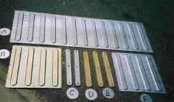 テリトリーチップ(視覚障害者誘導用ブロック)